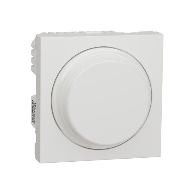 Wiser універсальний поворотно-натискний димер для LED ламп, Unica New білий