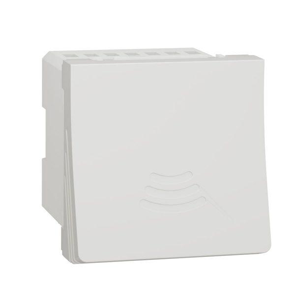 Дзвінок електронний 70 дБ 2 модуля Unica New білий