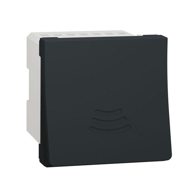 Дзвінок електронний 70 дБ 2 модуля Unica New антрацит