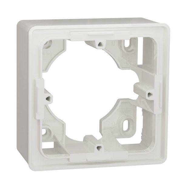 Коробка для відкритого монтажу 1-пост Unica New біла