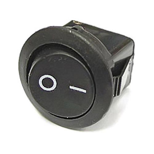 Вим. 1 кл. KCD105 круглий чорний без підсв. (KCD1)