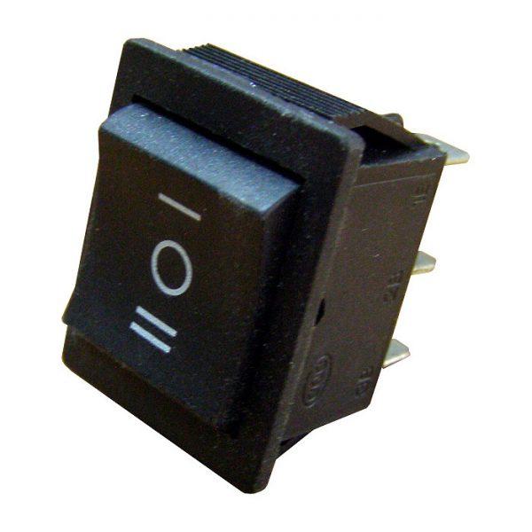 Перемикач YL206 перекидний чорний