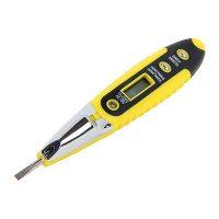 Викрутка-індикатор-тестер e.tool.test10 130х3 прямий шліц АС/DC12-250В