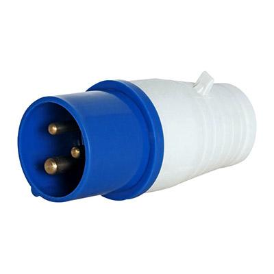 Силова вилка перен.3п. 220В 32А (023) e.plug.pro.