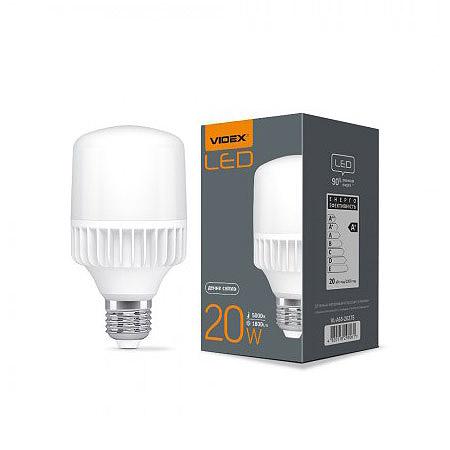 LED лампа  A65 20W E27 5000K 220V