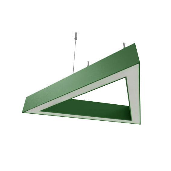 Св-к LED-трикутник LINEA Triangle-800 4200К ІР20 зелений НС-000-81-02-УХЛ