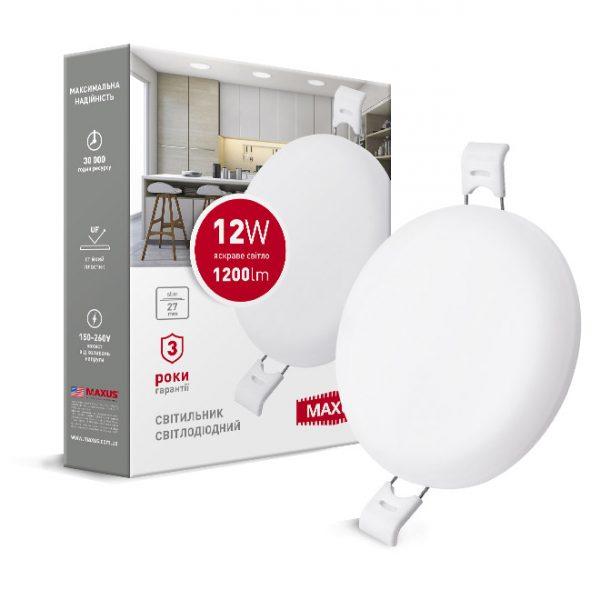 Світильник LED круг SP edge 12W, 4100К