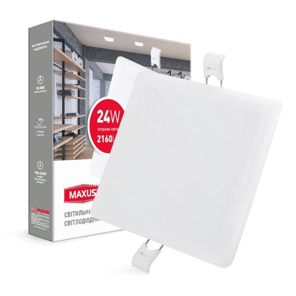 Світильник LED квадрат SP edge 24W, 4100К