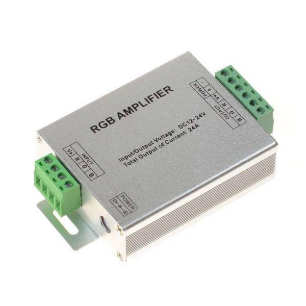 Підсил-ч сигналу RGB 12V 24A