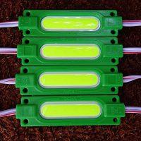 LED-модуль G-MTK-COB-1Led-1,7W-24V 70mm зелений