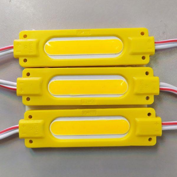 LED-модуль Y-MTK-COB-1Led-1,7W-24V 70mm жовтий