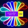 Led NEON жовтий 120Y2835-12V-6W/m 8*16mm IP65(неолед) 41228