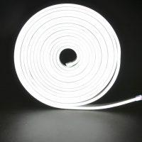 Led NEON білий 120B2835-12V-6Wm 8*16mm IP65(неолед)