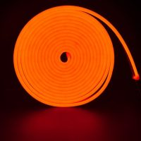 Led NEON помаранчевий 120O2835-220V-12Wm 8*16mm IP65(неолед)