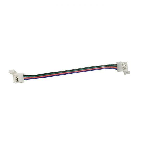 """З""""єднувач №9 для RGB LED затискач+20см+LED затискач"""