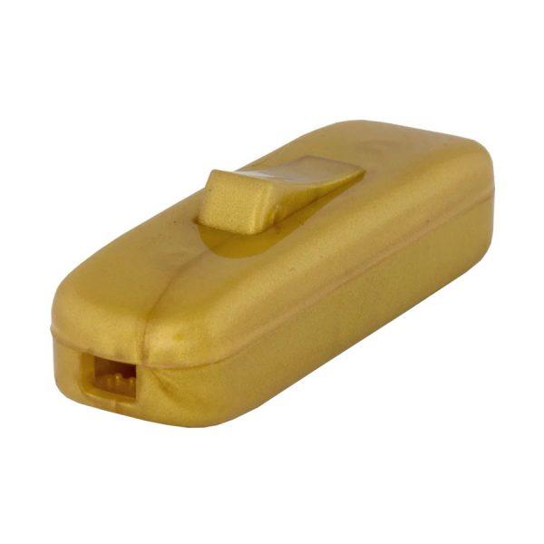 Вимикач навісний бронза ТМ LXL