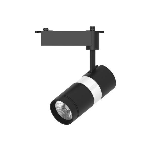 Св-к шинний LED TRL410 10+5W 850Lm 4000К чорний