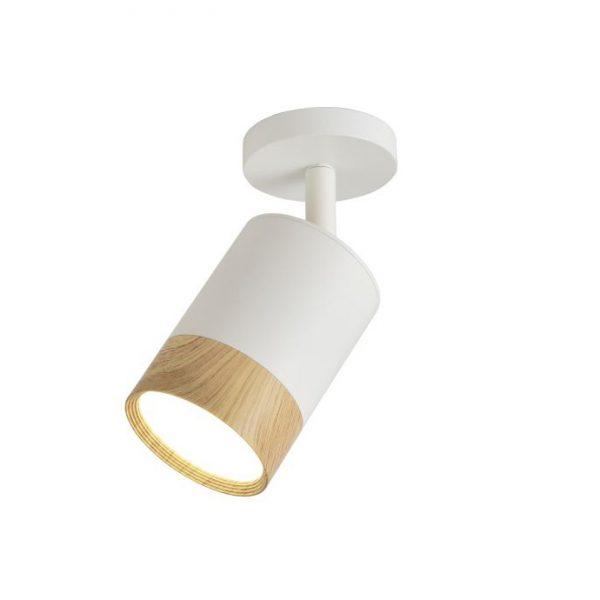 Св-к LED накл. TRL260 7W 4000К  білий+дерево