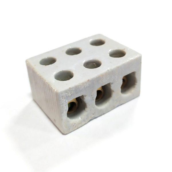 Колодка клемна керам.3л 15А