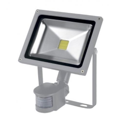 Прожектор LED 10w 6500K IP65 1LED LEMANSO з д/руху сір./LMPS14