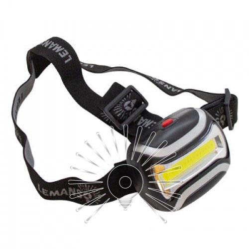 Ліхтарик COB LED на голову пластик/LMF45