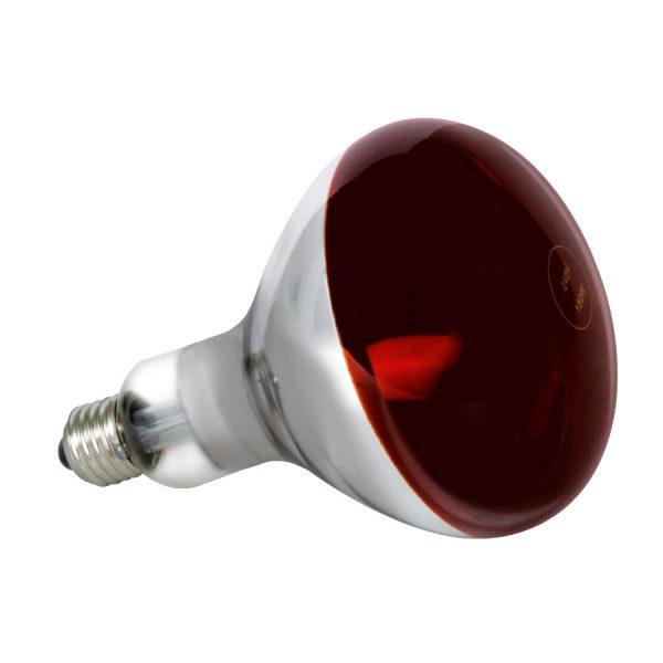 Лампа інфрачервона 250Вт Е27 230V (на пол.червона) LM3011 (LM216)