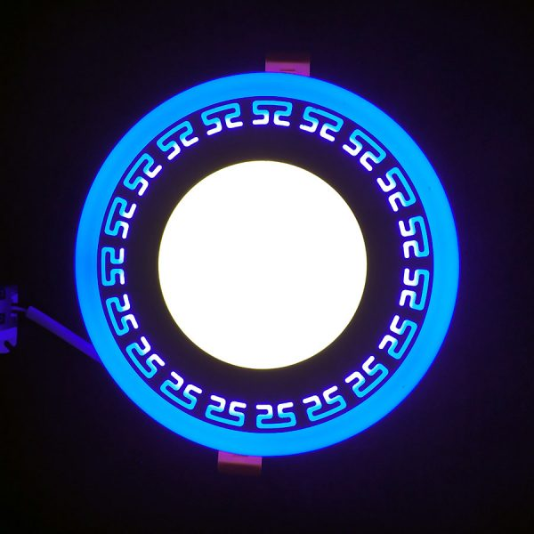 """Св-к точк.""""Грек"""" 6+3W з LED-підсв.син. 4500K 175-265V/LM555"""
