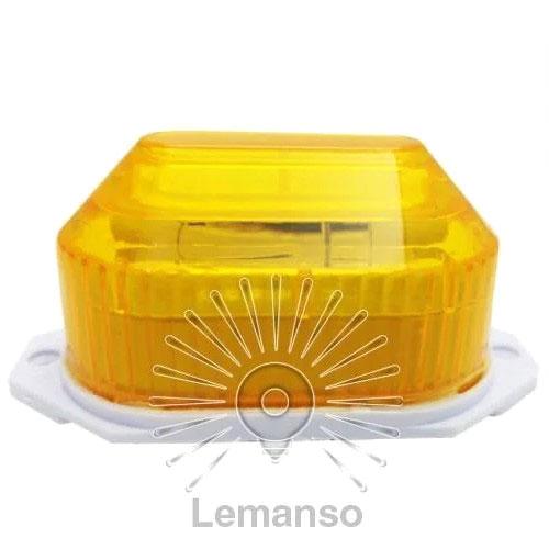 Стробоскоп Lemanso жовтий LR637