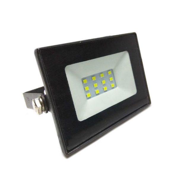 Прожектор LED 10w 6500K IP65 700LM LEMANSO чорний/ LMP15-10