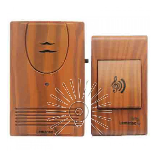 Дистанц.дверний дзвінок 12V вишня LDB55 (LDB27)