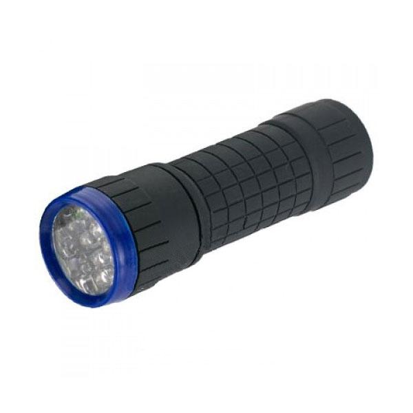 Ліхтарик 14 LED чорний алюміній/LMF32