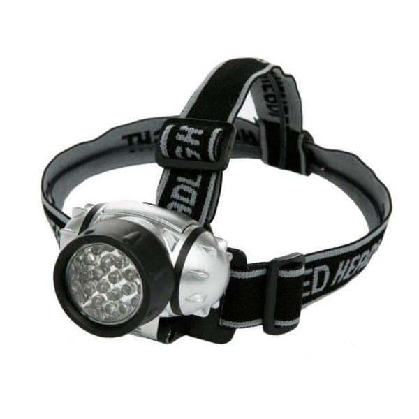 Ліхтарик 7 LED на голову пластик/LMF40