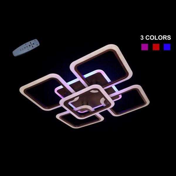 Люстра 5588/4+1CF LED 3 COLOR
