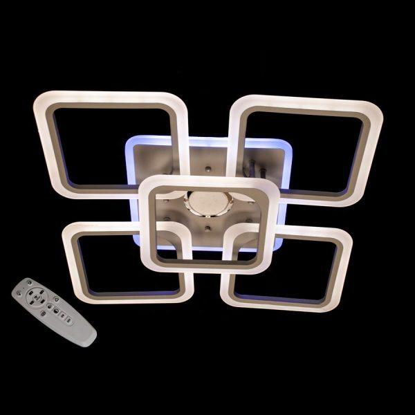 Люстра A8060/4+1CF MP3 LED 3color dimmer