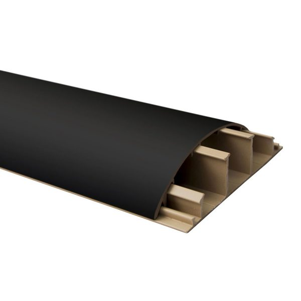 Бордюр(наличник)підлог. чорний 68х17 (ціна за планку 2,2м)