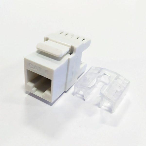 """Модуль комп""""ютерн. KEYSTONE RJ-45 (6 кат.) 180* з загл."""