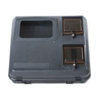 Коробка КДЕ-У Д-Б (для 3 фаз.ліч.) сірий пласт.