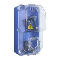 Коробка КДЕ-2 для 1 фаз.лічильника