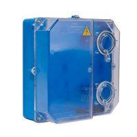 Коробка КДЕ-У для 3 фаз.лічильника