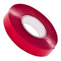 Скотч двостор. 3M 6008F-10мм*0.8*2метра червоний
