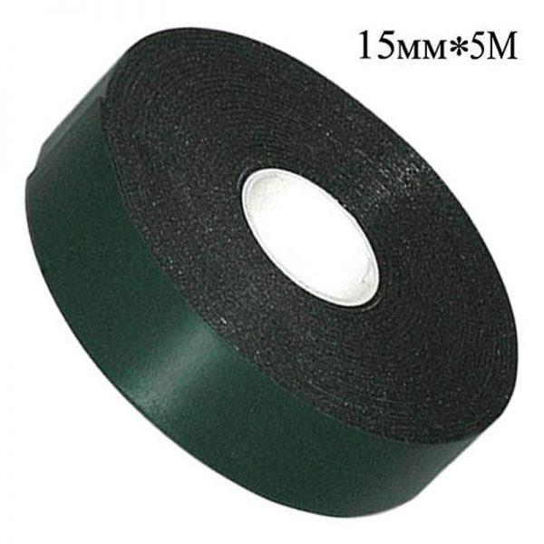 Скотч двосторонній 15мм*5м (зелений)