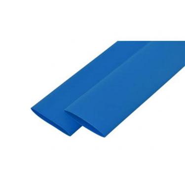 Термоусад.трубка 16/8 1м. синя e.termo.stand.16.8.blue
