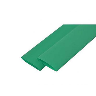 Трубка термозбіжна 30.0мм/1метр Delux зелена