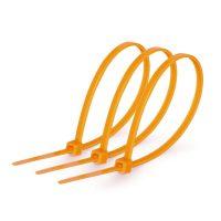 Кабельна стяжка 3*200мм помаранч (ціна за уп.)