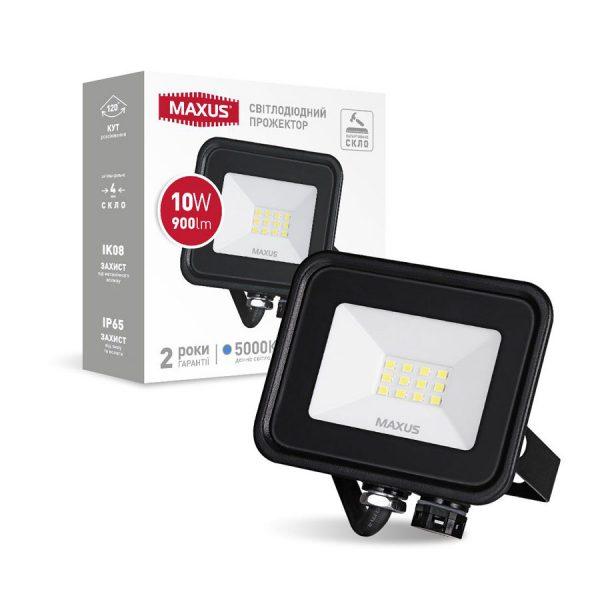 Прожектор LED MAXUS FL-04 10W, 5000K