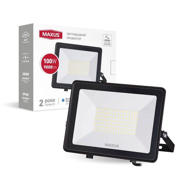 Прожектор LED MAXUS FL-04 100W, 5000K
