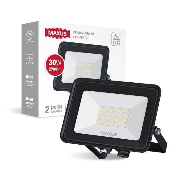 Прожектор LED MAXUS FL-04 30W, 5000K