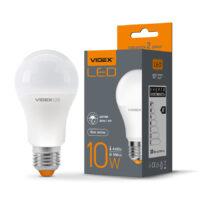 LED лампа A60E 10W E27 4100K 220V з датч.день/ніч