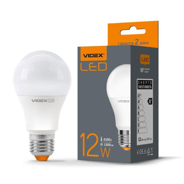 LED Лампа A60Е 12W E27 4100K 220V