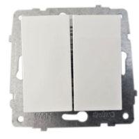 Механізм вимикача 2-кл. Grano білий